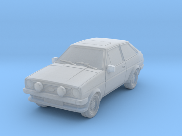 1:87 Fiesta mk1 xr2 hollow ho 1mm-walls (repaired) in Frosted Ultra Detail
