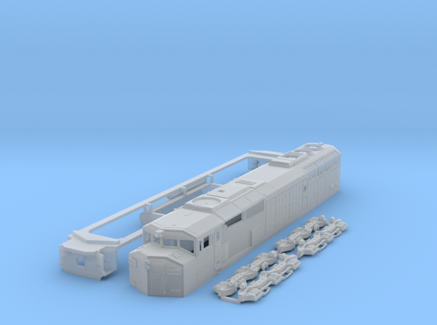 SD60f N Scale in Smooth Fine Detail Plastic