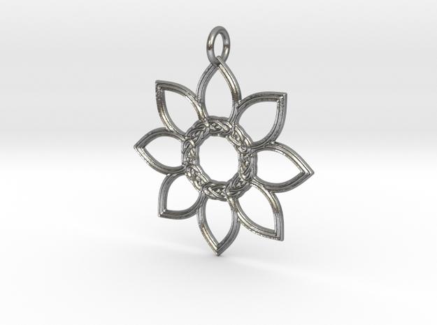 Celtic Flower Pendant