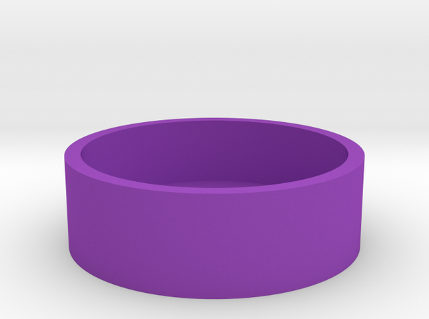 Okito Box Base USA Quarter in Purple Processed Versatile Plastic