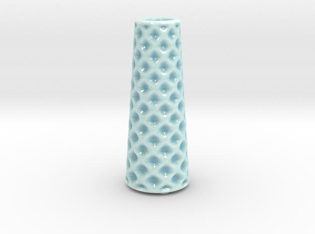 DRAW vase - B ceramic in Gloss Celadon Green Porcelain