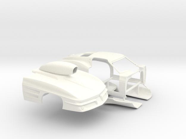 1/24 1963 Pro Mod Corvette Sep Door And Hood