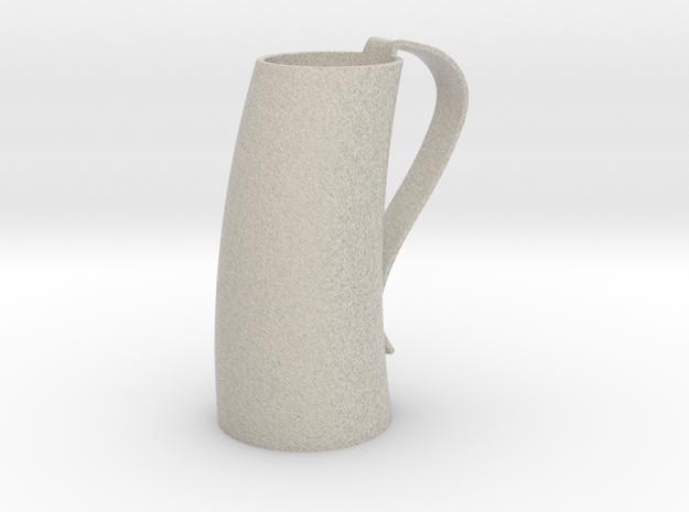 Game of Thrones Horn Mug in Natural Sandstone