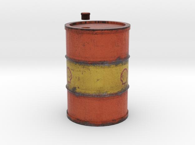 Drum 200 Litre 1:18 in Full Color Sandstone