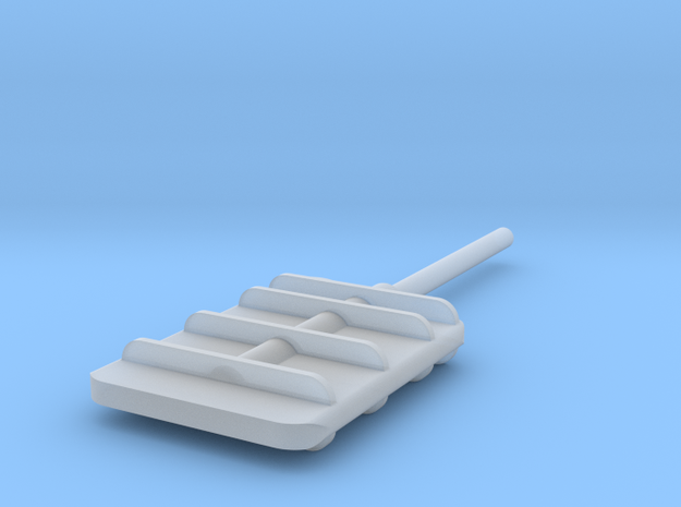 Flanking Rudder V2 in Frosted Ultra Detail