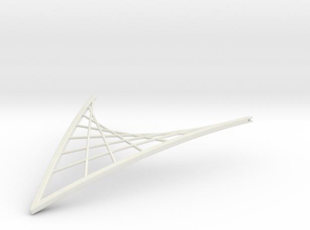 Parabolic Suspension Statement Necklace
