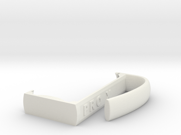 Pro X Can Holder in White Strong & Flexible