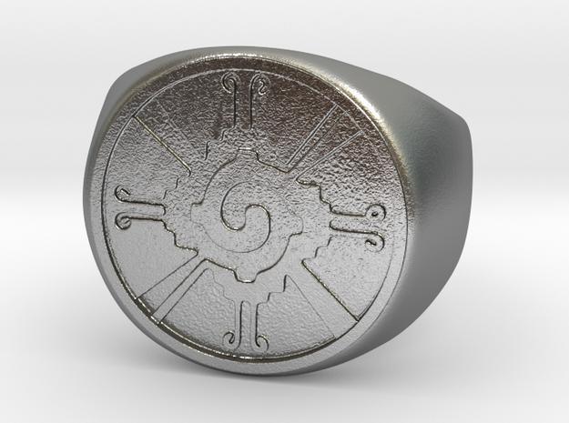 Hunab-ku in Raw Silver