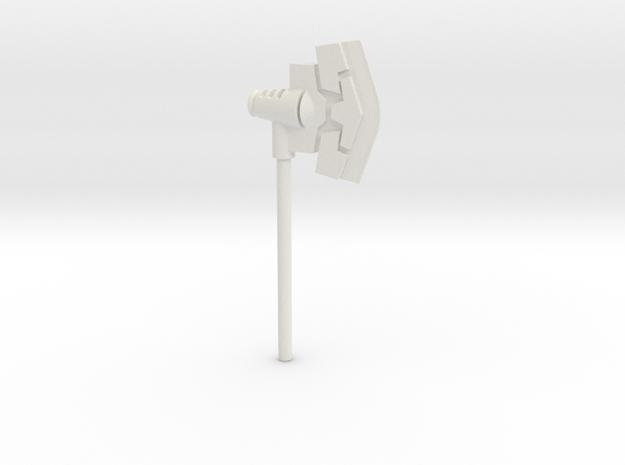 Tfa Optimus Prime Ax in White Natural Versatile Plastic