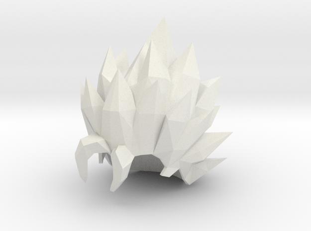 Custom Vegito Inspired MINIMATE in White Natural Versatile Plastic