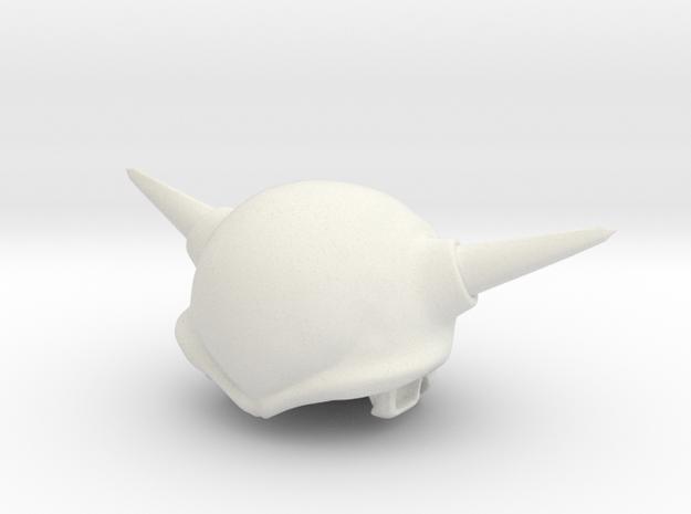 Custom Frieza 1st Form Inspired MINIMATE in White Natural Versatile Plastic