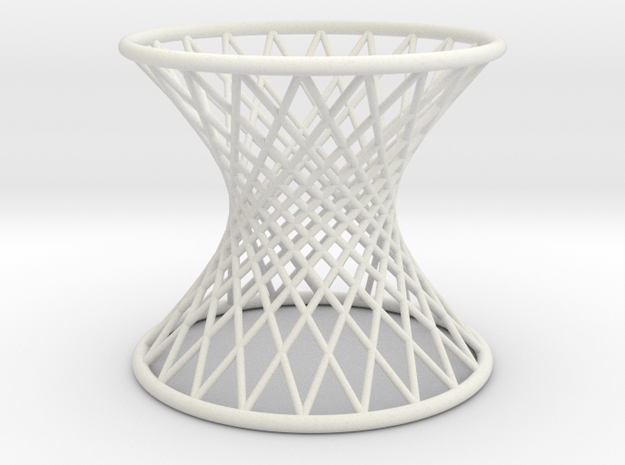 Hyperboloid: Ruled in White Strong & Flexible