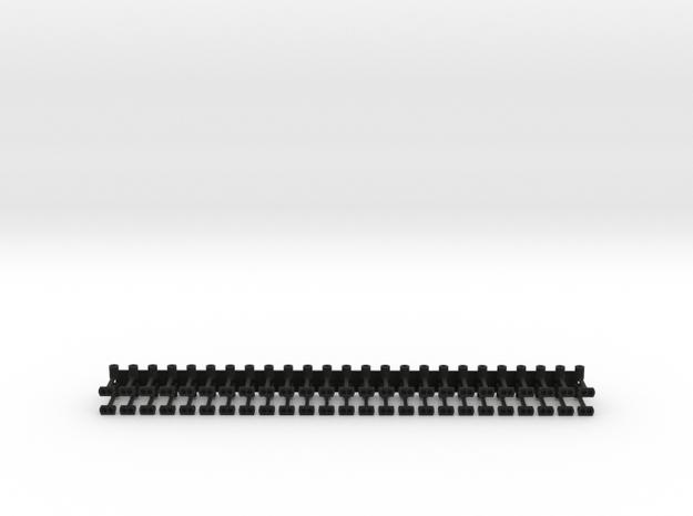 Schaku-Magnetkupplung (vorne glatt) in Black Natural Versatile Plastic