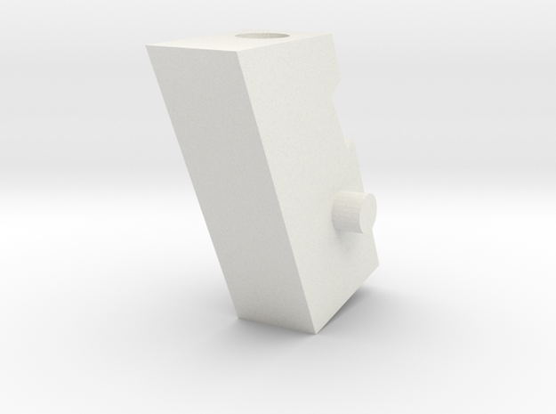 Handle Adapter (Generic) for Nonnef Hands in White Strong & Flexible
