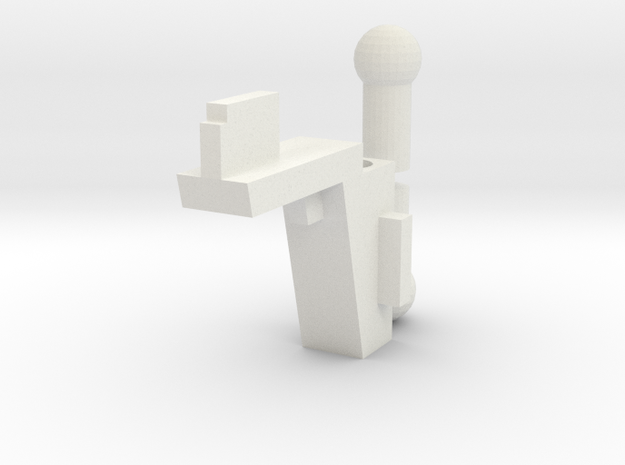 SFC - Handle Adapter And Ball Pegs in White Strong & Flexible