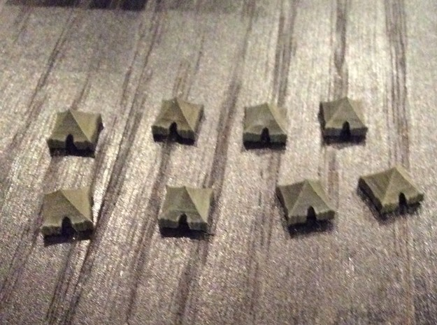 1:700 Scale Tents M1934 Types in Frosted Extreme Detail
