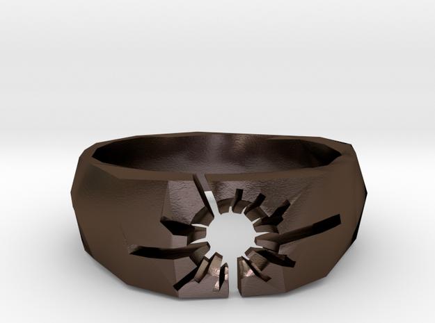 Neotokyo ring: size 7 (US) O (UK) 3d printed