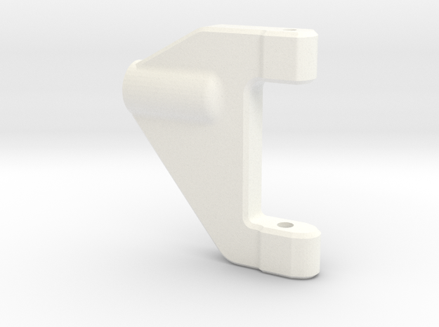 NS-UpperArm-Left-V2 in White Processed Versatile Plastic