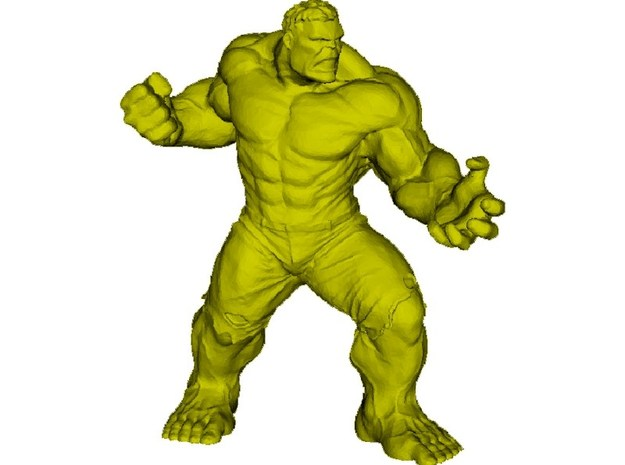 45mm Incredible Hulk figure