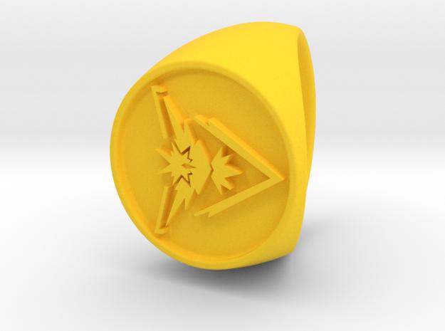 Team Instinct Signet US 9 in Yellow Processed Versatile Plastic