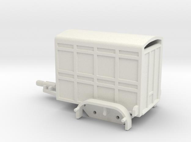 1040 Tiertransporter HO in White Strong & Flexible