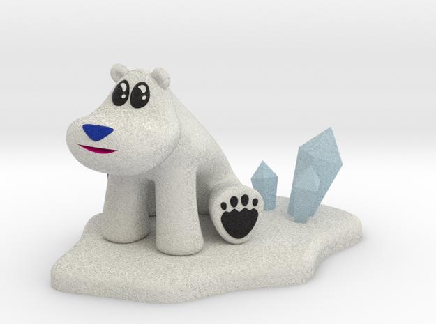 Polar Bear from Crash Bandicoot in Full Color Sandstone