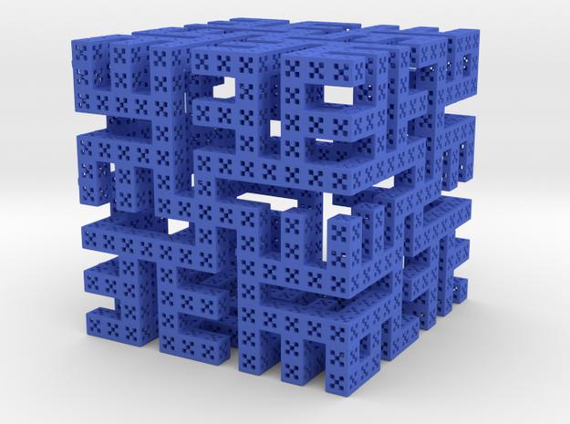 C-vicsek-boudha in Blue Processed Versatile Plastic