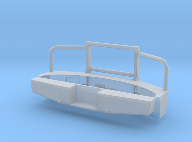 1-24 F350 Heavy Bumper W/o Winch in Smooth Fine Detail Plastic