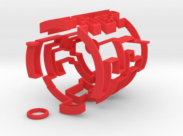 Cylindric Maze
