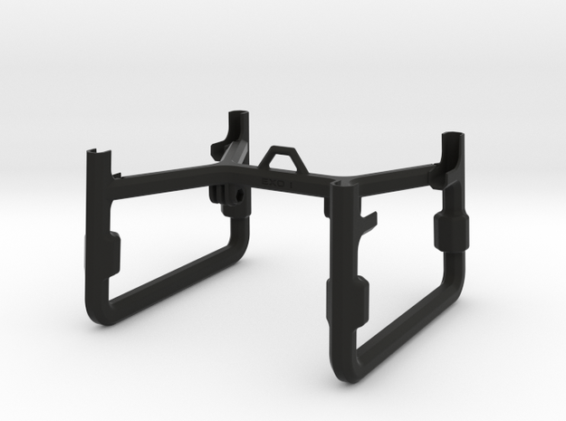 EXO 1  Search & Rescue Exoskeleton - Frame 3d printed Rugged Black - Strong Flexible Plastic