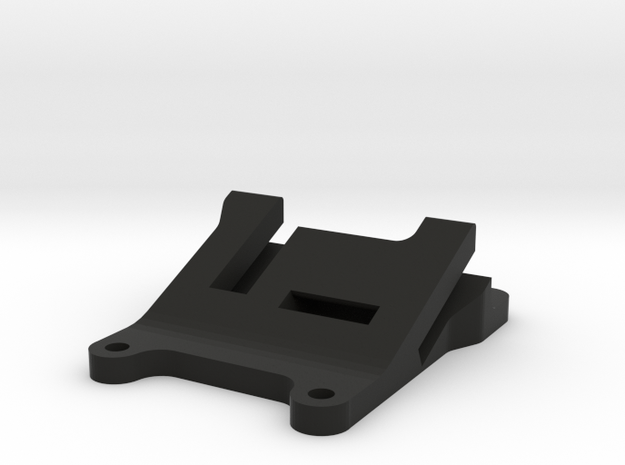QAV 25° GoPro Mount for Modular Mounting System in Black Natural Versatile Plastic