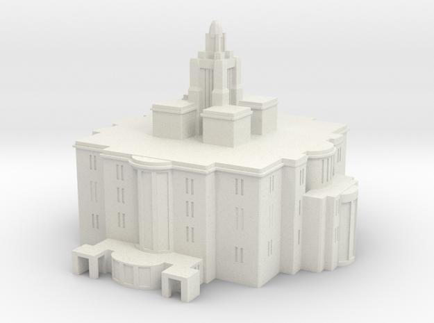 Payson utah lds temple in White Natural Versatile Plastic