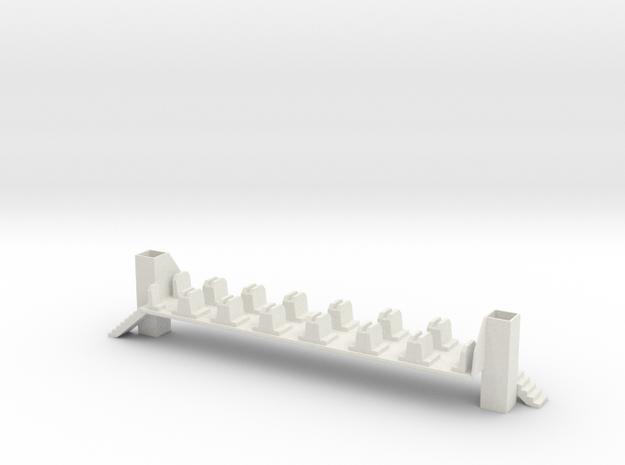 IRM bovenverdieping (H0) in White Natural Versatile Plastic