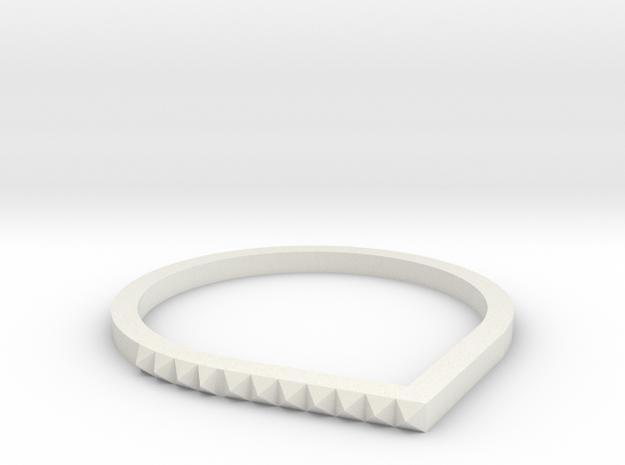 Anel  in White Natural Versatile Plastic
