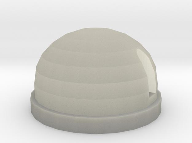 Rear light white D90 D110 Gelande 1:10 in Transparent Acrylic