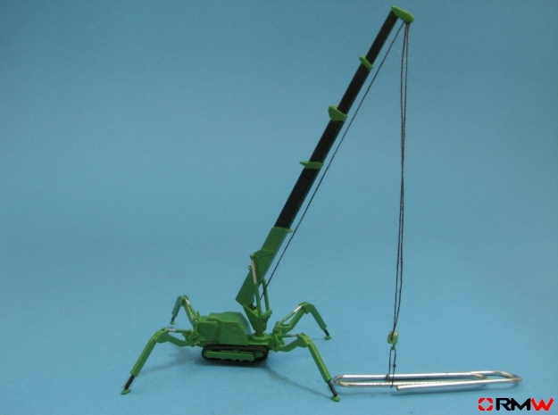 HO/1:87 Mini Crawler Crane Set B kit in Smooth Fine Detail Plastic