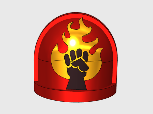 10x Fire Lords - G:7a Shoulder Pads