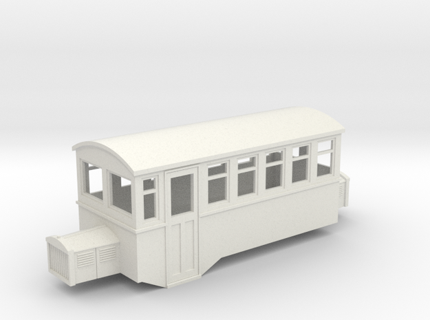 009 HOe Railbus 41 double ended  in White Strong & Flexible