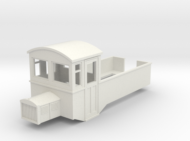 009 HOe Railbus 44 pick up version in White Strong & Flexible