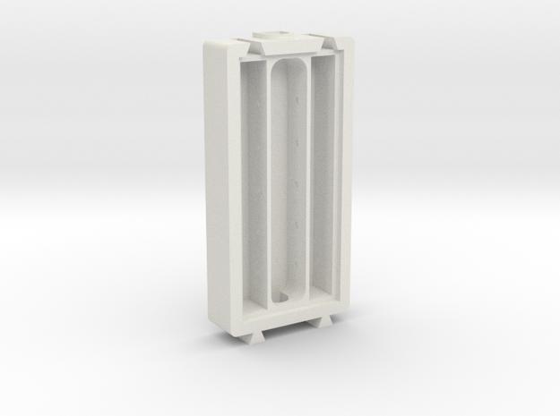 Water Module in White Natural Versatile Plastic