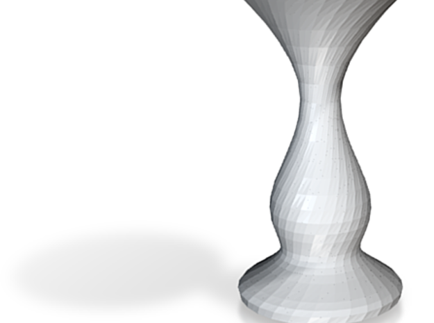 ghostly vase 3d printed