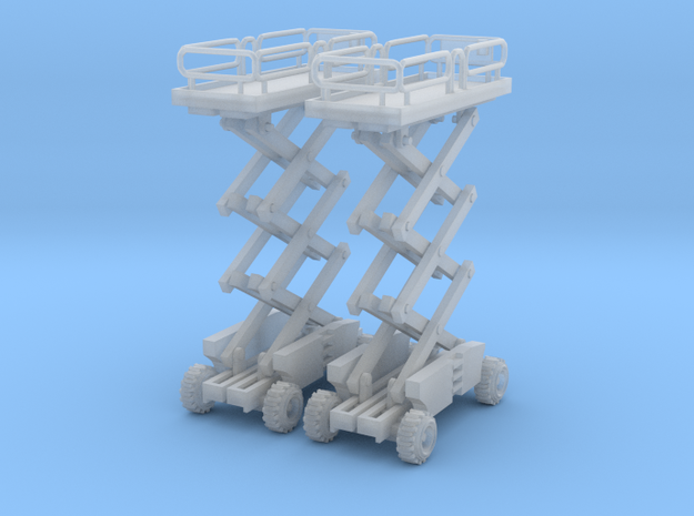 Two Scissor Lift Z Scale