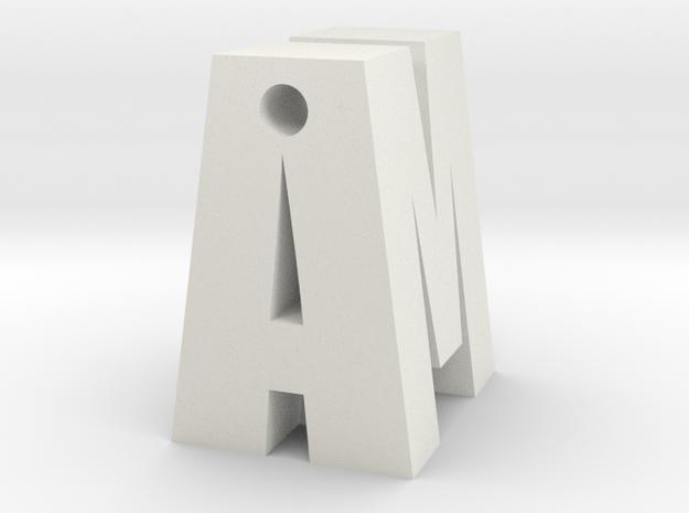 Monogram - custom design by it's a CYN! 3d printed