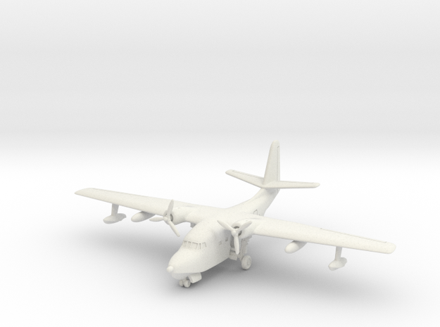 Grumman HU-16 (SA-16) Albatross (on land) 1/285 in White Natural Versatile Plastic