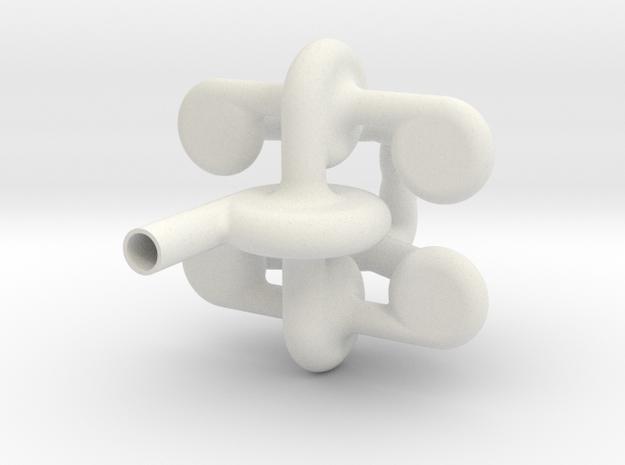 MIXIN 01 in White Natural Versatile Plastic