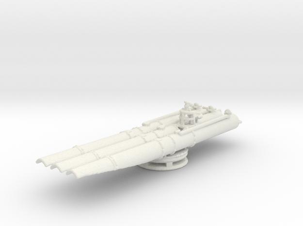 1/144 Scale USN Triple Torpedo Tubes WW2