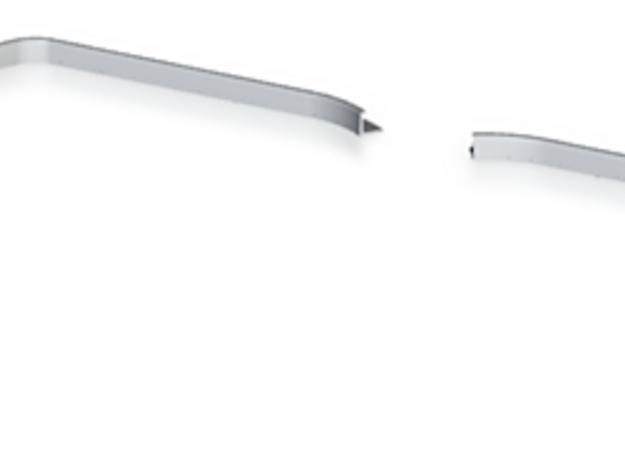 Gocc Fin in White Processed Versatile Plastic