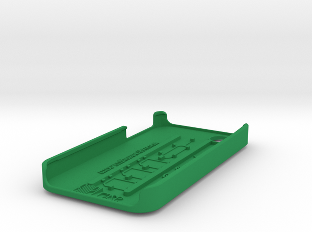 SIMPLcase - iPhone 4 / 4s case for travelers 3d printed