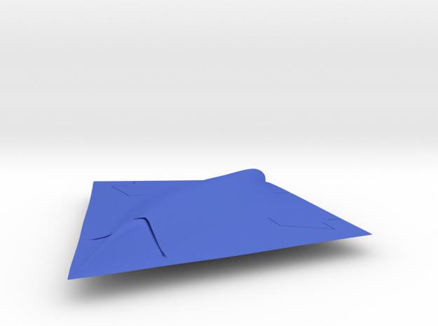 UCAV Pegasus 1/100 in Blue Processed Versatile Plastic