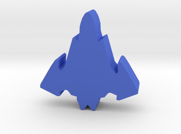 Game Piece, Drake Aerospace Fighter in Blue Processed Versatile Plastic